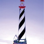 St. Augustine Lighthouse Crystal Figurine