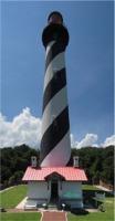St. Augustine Lighthouse Crystal Figurine