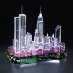 """A View of New York"" crystal collectible from Crystal World"
