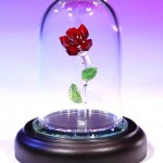 Click the image to learn more about this crystal rose.