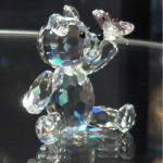 Teddy crystal figurine from a personal collection