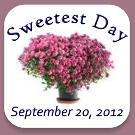 Sweetest Day - September 20, 2012