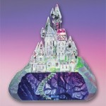 Enchanted Castle crystal figurine.